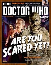 Doctor Who Magazine Magazine Cover