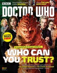 Doctor Who Magazine Magazine Cover