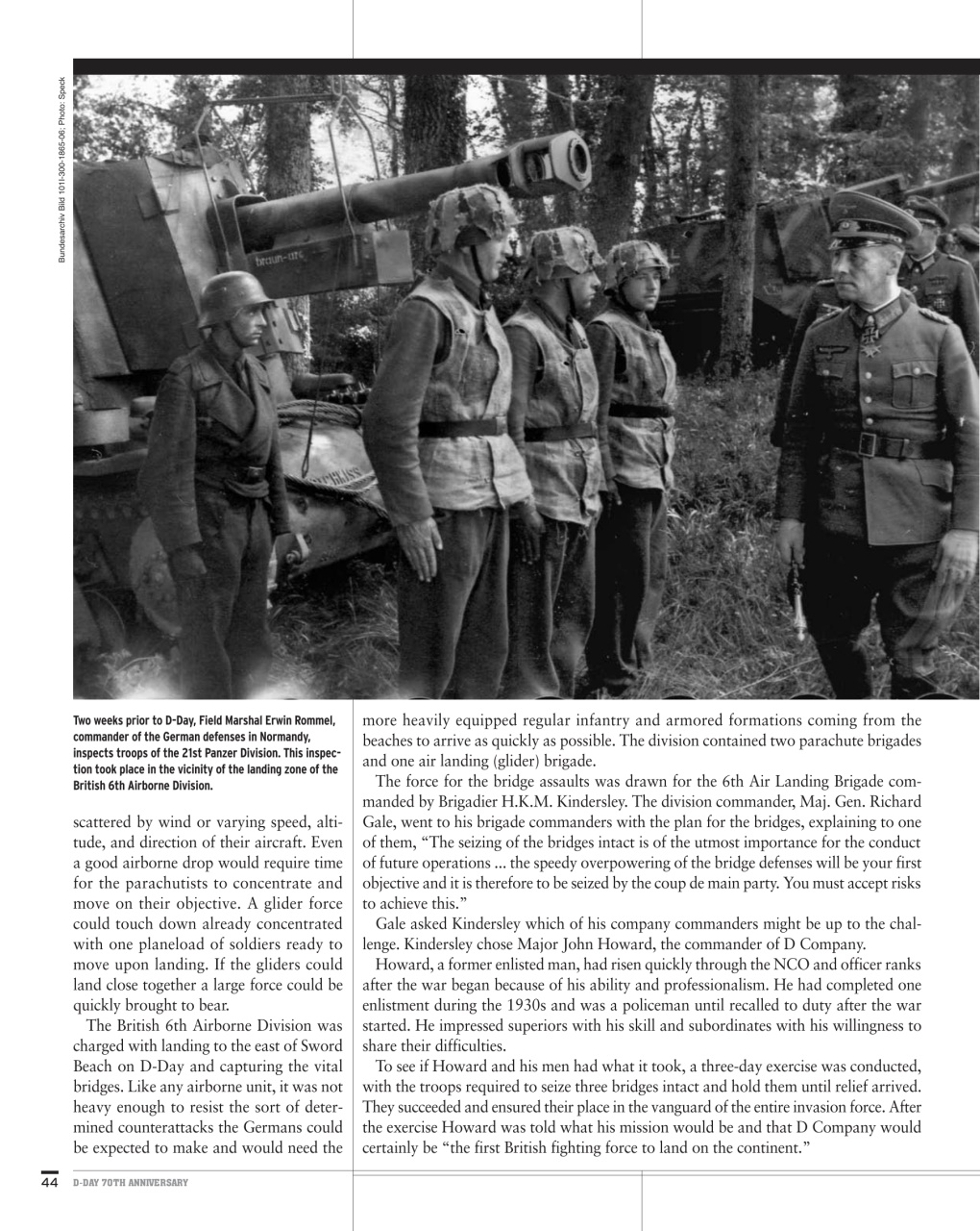 WWII QUARTERLY Summer 2017 Rommel The Man and the Myth-Normandy-Kasserine Pass