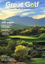 Great Golf Magazine Autumn 2015 issue Great Golf Magazine Autumn 2015