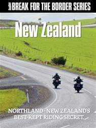 Break for the Border: New Zealand issue Break for the Border: New Zealand