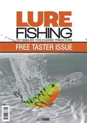 *FREE TASTER* LURE FISHING: TECHNIQUES FOR COARSE PREDATORS issue  *FREE TASTER* LURE FISHING: TECHNIQUES FOR COARSE PREDATORS