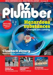 NZ PLUMBER Magazine Cover