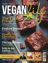 Vegan Life Magazine Cover