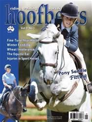 Hoofbeats Magazine Cover