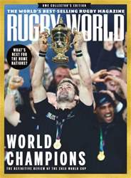 Rugby World Magazine Cover