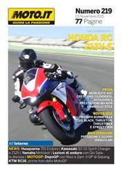 Moto.it Magazine n. 219 issue Moto.it Magazine n. 219