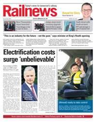 Railnews Magazine Cover