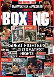 Boxing News Annual 2016 issue Boxing News Annual 2016
