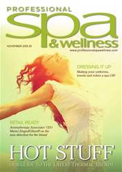 Professional Spa & Wellness November 2015 issue Professional Spa & Wellness November 2015
