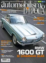 Automobilismo d'Epoca 11 2015 issue Automobilismo d'Epoca 11 2015