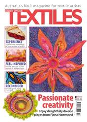 Down Under Textiles Magazine Cover