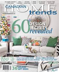 Canadian Home Trends Magazine Cover