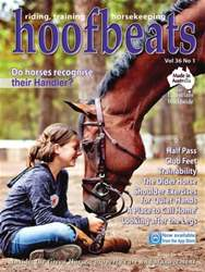 Hoofbeats Magazine Cover