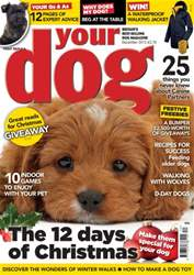 Your Dog Magazine December 2015 issue Your Dog Magazine December 2015