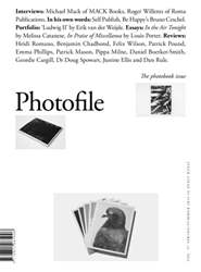 Autumn/Winter 2015-16 - The photobook issue issue Autumn/Winter 2015-16 - The photobook issue