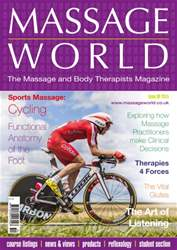 Massage World 89 issue Massage World 89