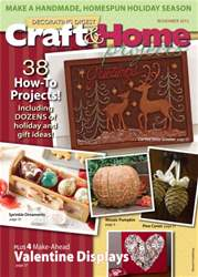 Craft & Home Projects Magazine Cover