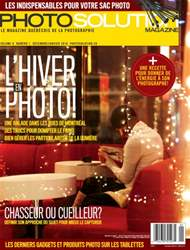 Photo Solution Décembre/Janvier 2016 issue Photo Solution Décembre/Janvier 2016