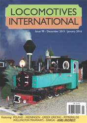 Issue 99 - December 2015 / January 2016 issue Issue 99 - December 2015 / January 2016