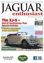 Vol. 31 No. 12 The XJ-S issue Vol. 31 No. 12 The XJ-S