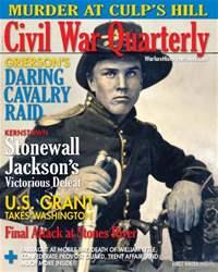 Civil War Quarterly Magazine Cover