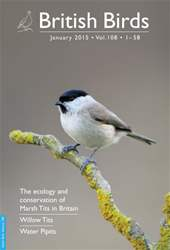 British Birds Magazine Cover
