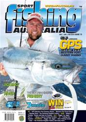 Sports Fishing Australia Magazine Cover