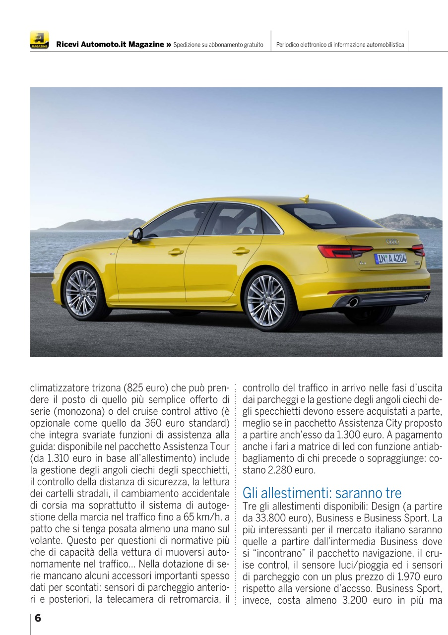 Automoto It Magazine Automoto It Magazine N 76 Subscriptions