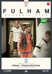 Fulham V Preston NE 2015-16 issue Fulham V Preston NE 2015-16