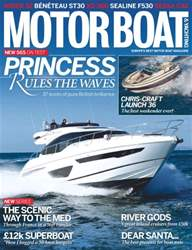 Motorboat & Yachting Magazine Cover