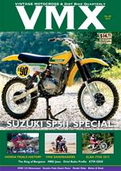VMX Magazine Magazine Cover