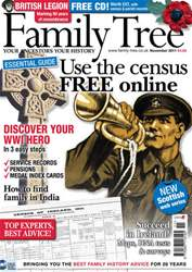 Family Tree November 2011 issue Family Tree November 2011