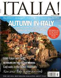 November 2011 Autumn in Italy issue November 2011 Autumn in Italy