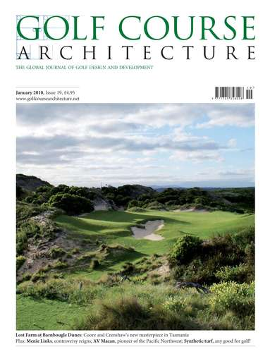 Golf Course Architecture Preview