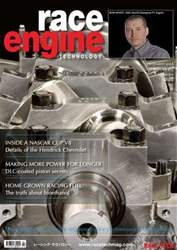 Race Engine Technology Magazine Cover