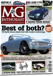MG Enthusiast November 2011 issue MG Enthusiast November 2011