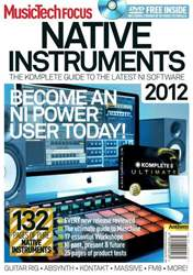Issue 21 Native Instruments 2012 issue Issue 21 Native Instruments 2012