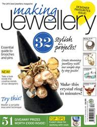 Making Jewellery Magazine Cover