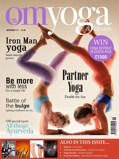 OM Yoga Magazine Preview
