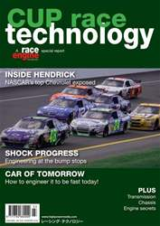 CUP Race Technology Magazine Cover