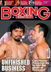Boxing Monthly November 2011 issue Boxing Monthly November 2011