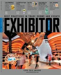 EXHIBITOR Magazine Magazine Cover