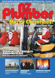 NZ Plumber December 2015-January 2016 issue NZ Plumber December 2015-January 2016
