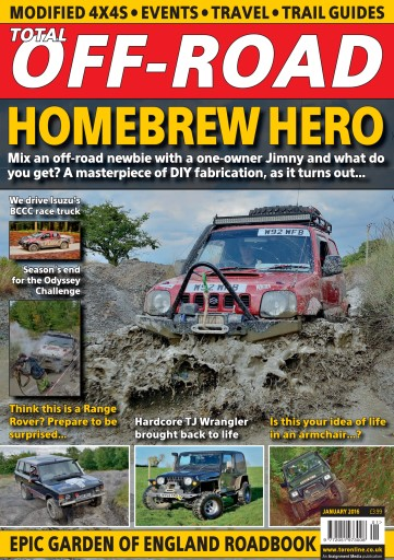 4x4 magazine incorporating total off road january 2016 subscriptions pocketmags. Black Bedroom Furniture Sets. Home Design Ideas