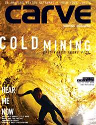 Carve Magazine Cover