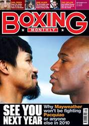Boxing Monthly September 2010 issue Boxing Monthly September 2010