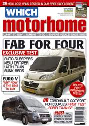 Which Motorhome Nov 2011 issue Which Motorhome Nov 2011