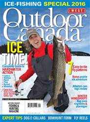 Ice Fishing Special West 2016 issue Ice Fishing Special West 2016