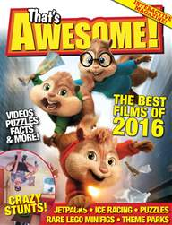 That's Awesome! - the interactive kids' magazine issue Xmas 2015